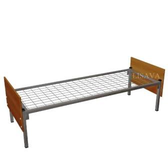 Кровать металлическую односпальную с матрасом
