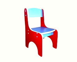 Детский стул из дсп