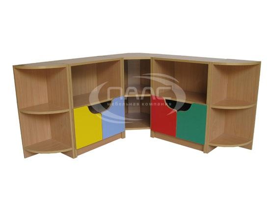 Угловой шкаф для детской, фото